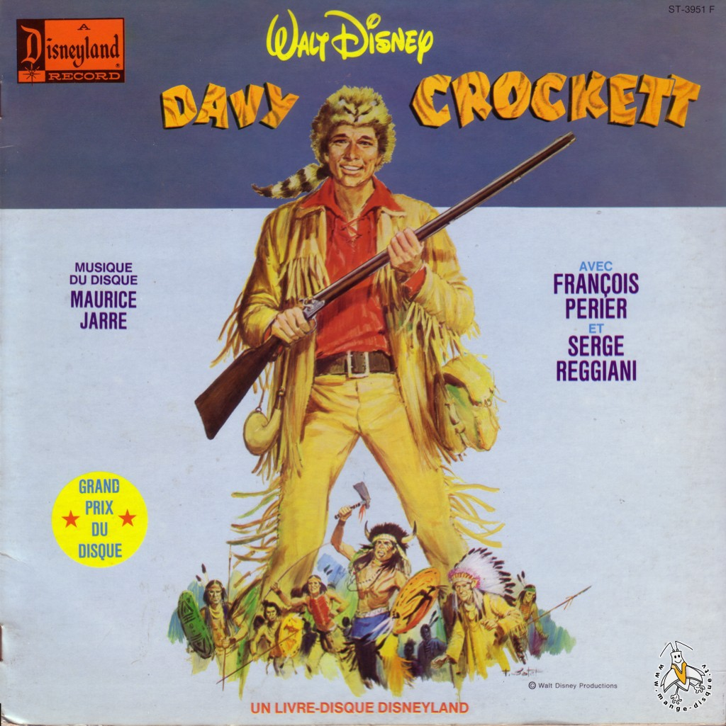 Tv Series And Cartoons Records Walt Disney Davy Crockett
