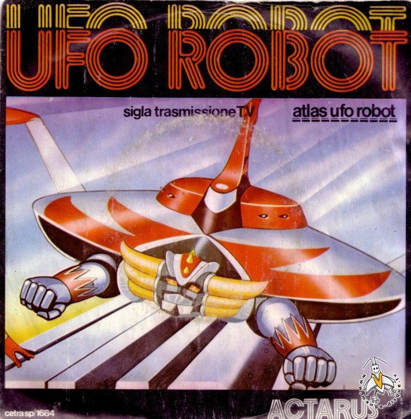 Tv Series And Cartoons Records Ufo Robot Sigla Transmissione Tv