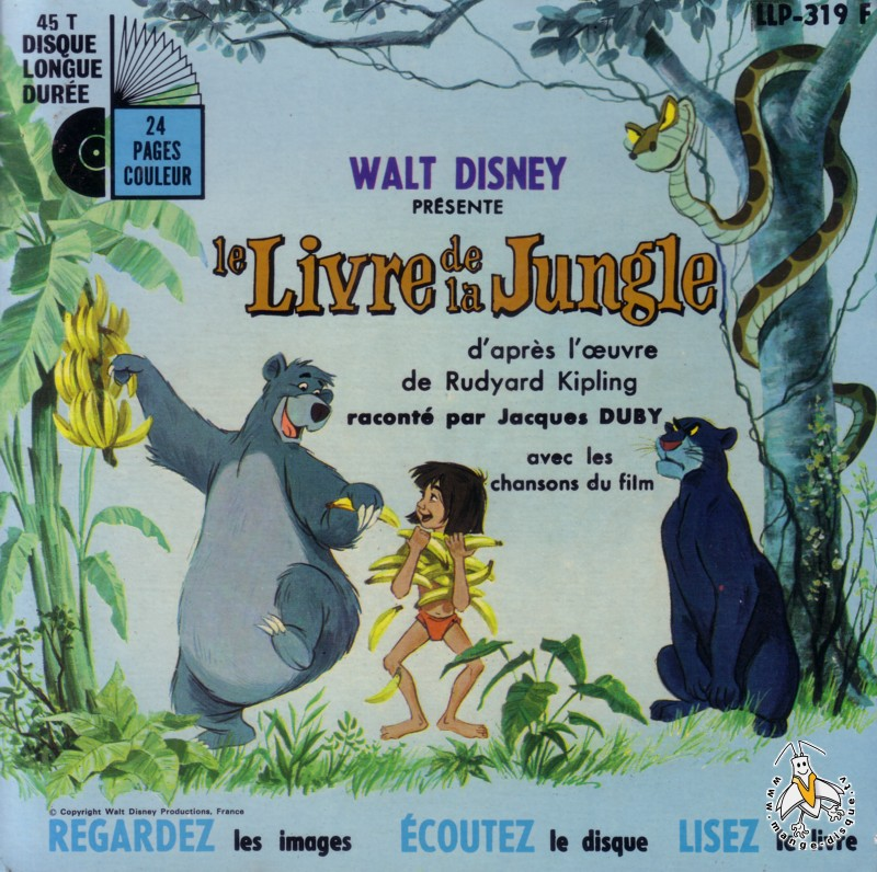 Tv Series And Cartoons Records Walt Disney Presente Le Livre