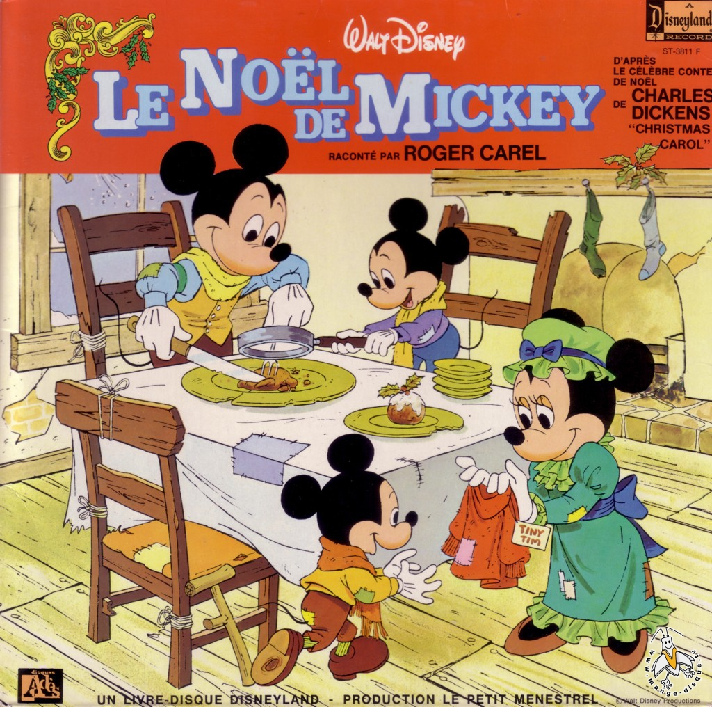 Tv Series And Cartoons Records Walt Disney Le Noel De Mickey Raconte
