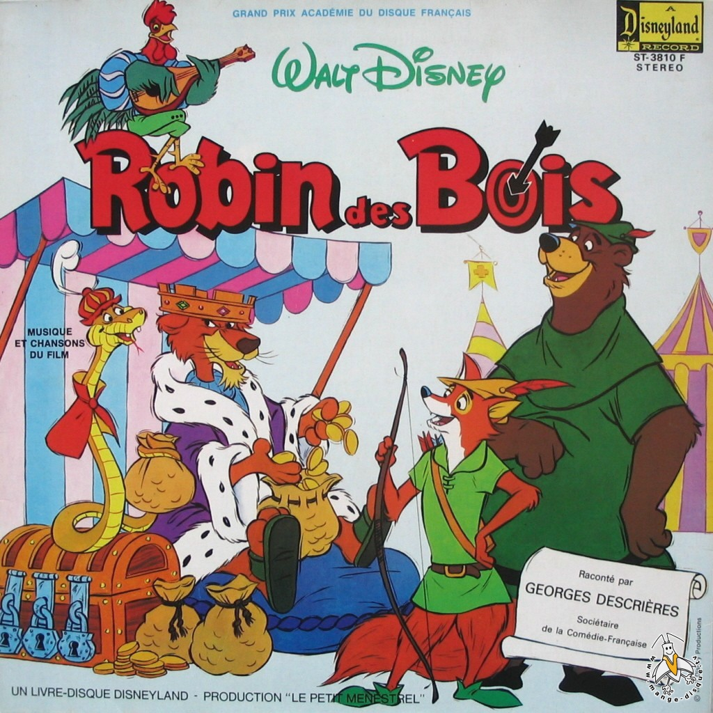 Tv Series And Cartoons Records Robin Des Bois Racont 233 Par