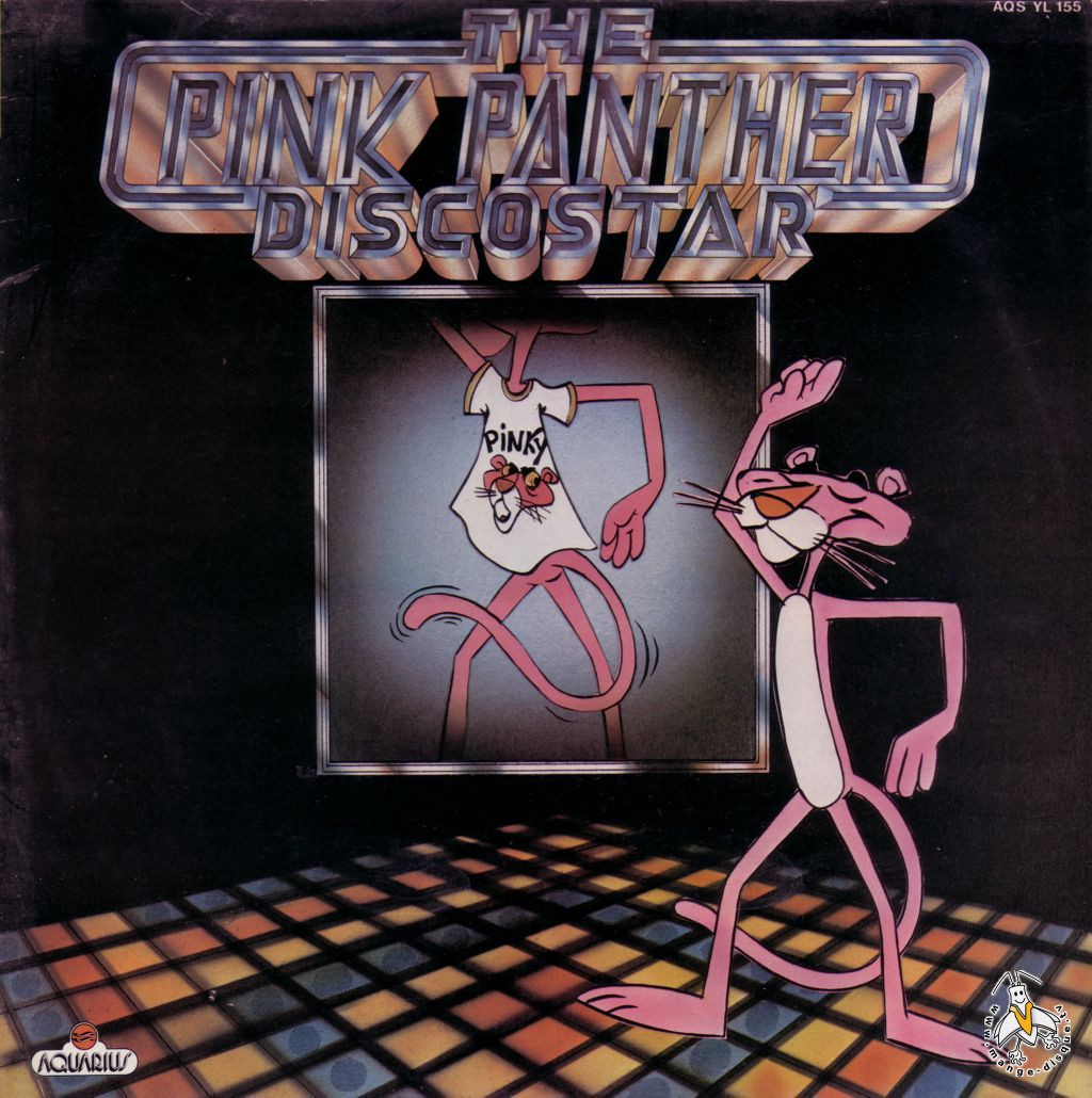 Tv series and cartoons records the pink panther disco star - La panthere rose en dessin anime ...