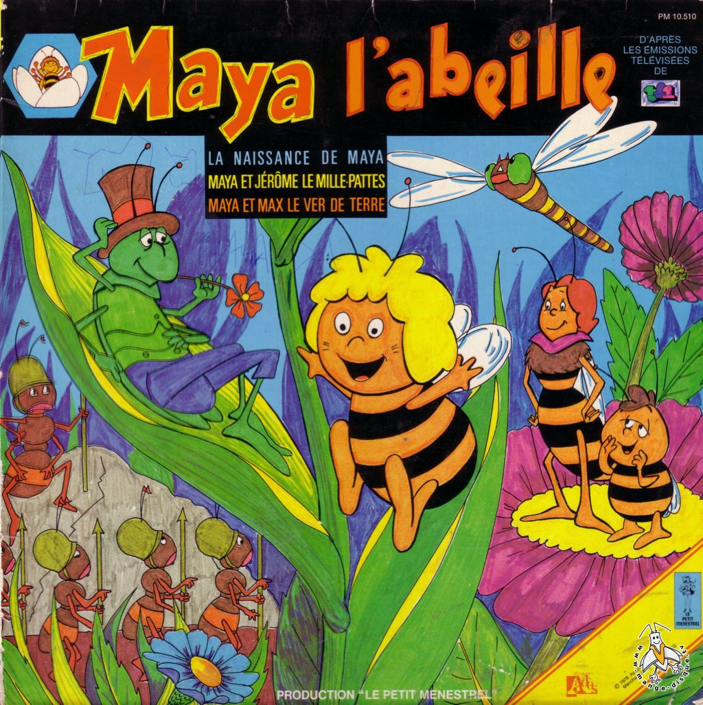 Tv Series And Cartoons Records Maya L Abeille 3 Histoires