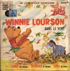 disque animation divers winnie l ourson winnie l ourson dans le vent 33t copyright 1970 recto