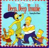 disque dessin anime simpsons the simpsons deep deep trouble featuring bart and homer