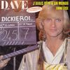 disque live dickie roi dave chansons du feuilleton tv dickie roi